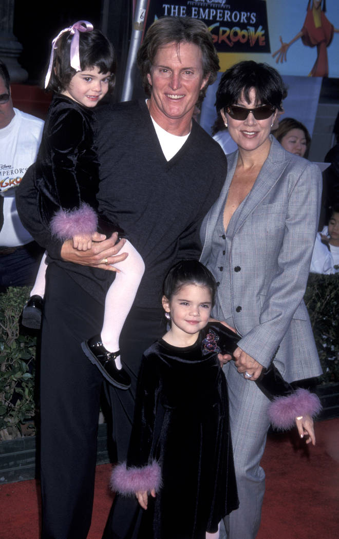 Caitlyn has two kids, Kylie and Kendall, with Kris Jenner