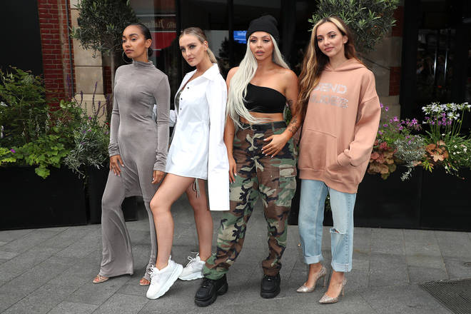 Little Mix won Simon Cowell's reality series, The X Factor
