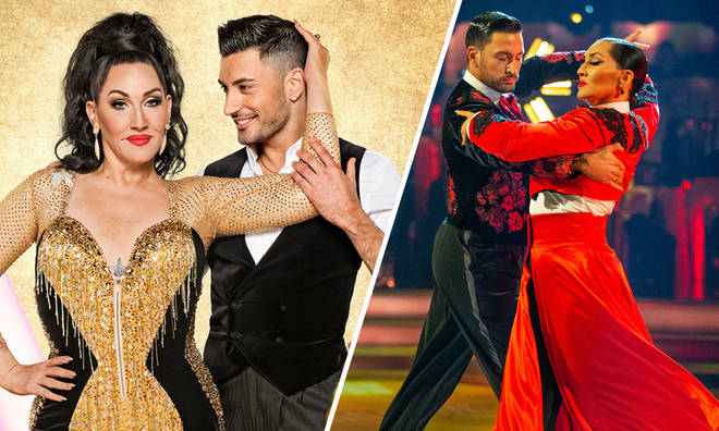 Michelle Visage and partner Giovanni Pernice are very close