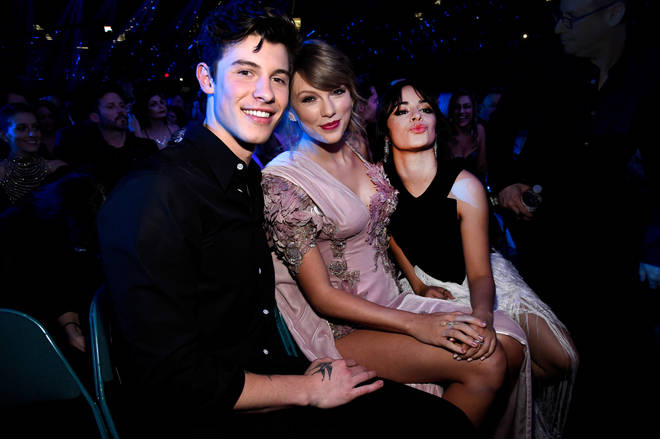 Taylor Swift and Shawn Mendes at the 2018 Billboard Music Awards