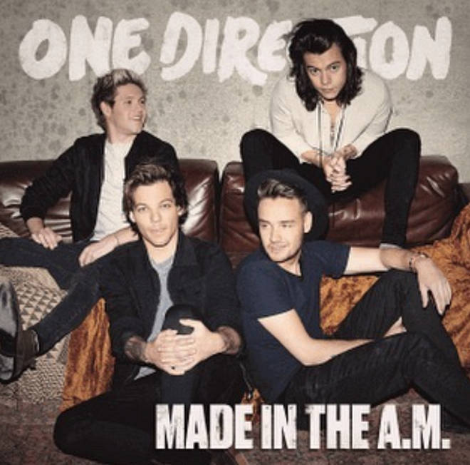 Liam Payne shared the album artwork for 'Made In The AM'
