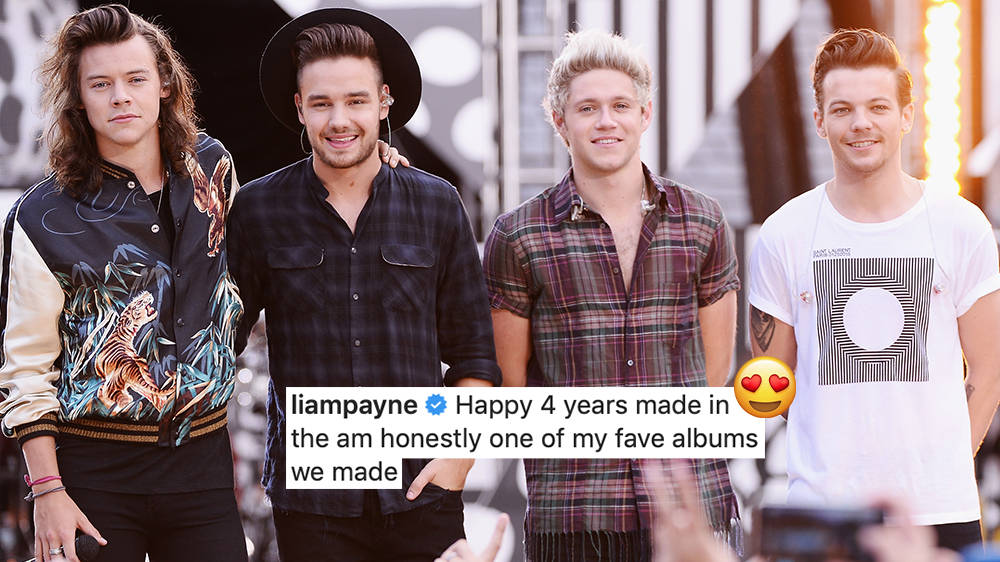 Liam Payne's Emotional One Direction Anniversary Tribute Has Fans Remembering 'Made In The AM' - Capital FM