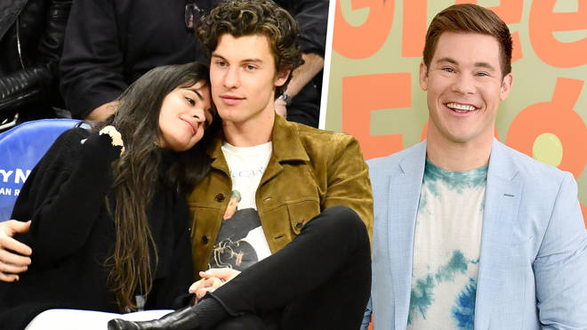Adam Devine joked with Shawn Mendes after his PDA with Camila Cabello