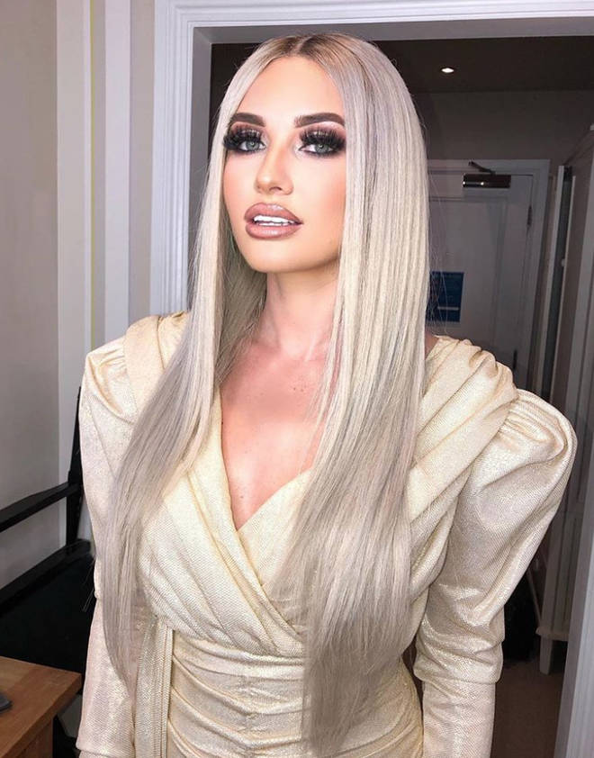 Amy Hart shocked fans with her straight, icy hair