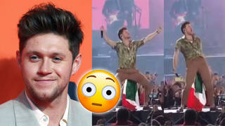 Niall's hip thrust on stage sends fans into meltdown