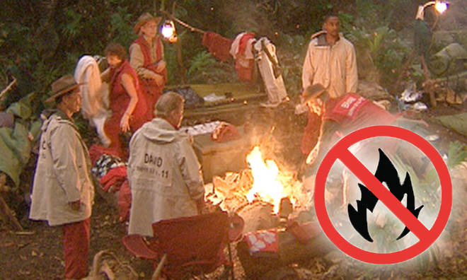 I'm A Celeb campmates might not be allowed to use the fire this year