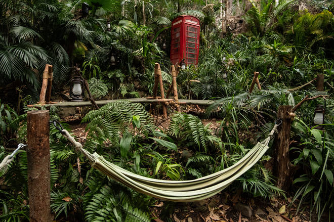 The I'm A Celebrity 2019 camp includes the hammocks as usual