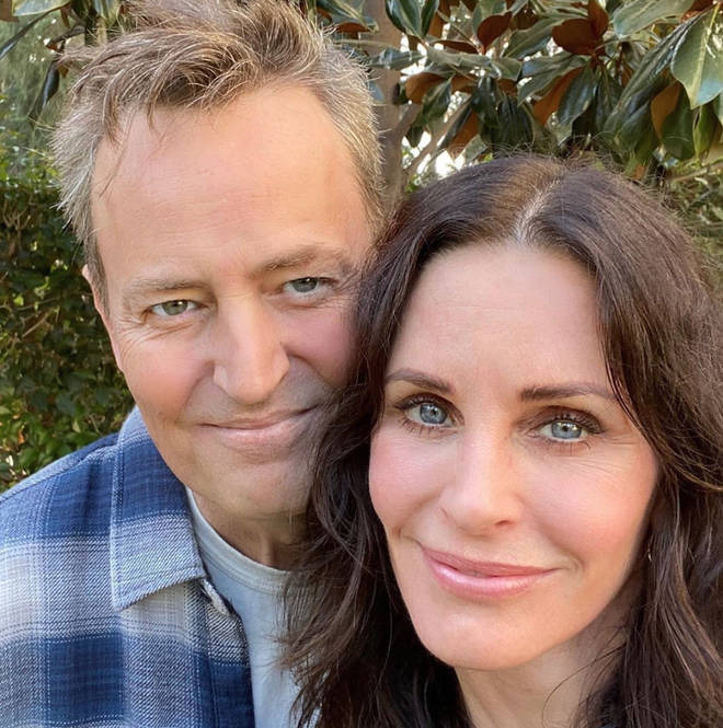 Courteney Cox and Matthew Perry reunited recently