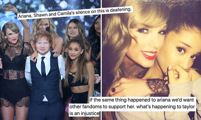 Fans are worried Ariana Grande will end up in the same position as Taylor Swift