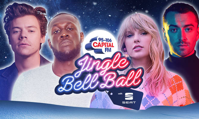 Taylor Swift, Stormzy, Harry Styles and Sam Smith are all playing the ball!