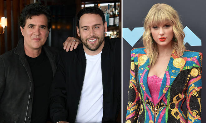 Scooter Braun and Scott Borchetta's label issued a response
