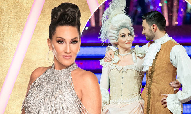 Michelle Visage was eliminated from Strictly Come Dancing