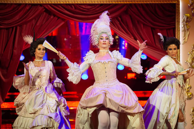 Michelle Visage's performance of Vogue was flooded with praise