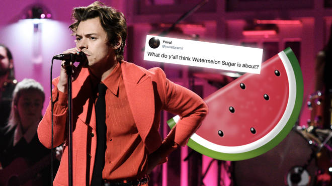 Harry Styles' performs 'Watermelon Sugar' live