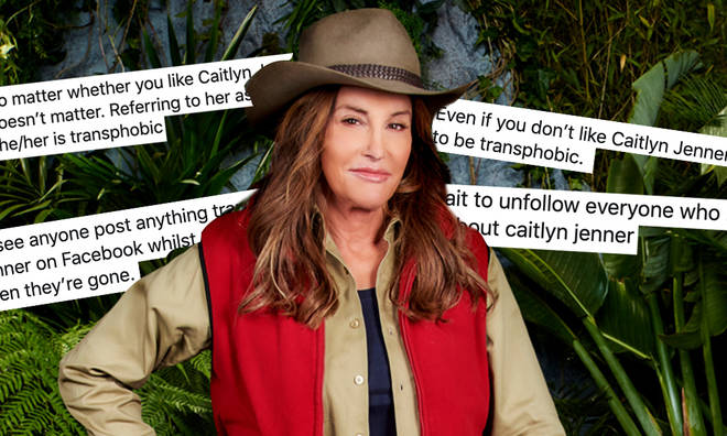 Caitlyn Jenner was defended by I'm A Celeb viewers