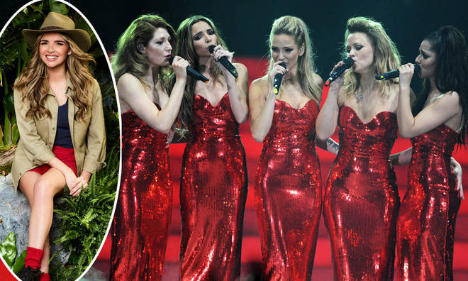 Nadine Coyle spilled about her time in Girls Aloud