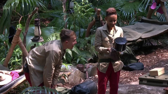 Roman and Adele talk about the Jane Mcdonald photo in the jungle