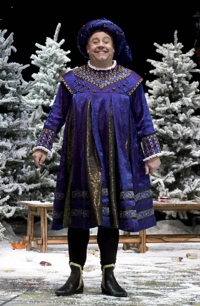 Cliff Parisi has appeared in pantomimes