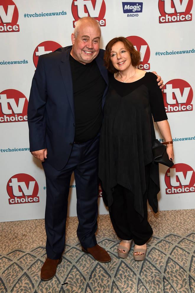Cliff Parisi and his partner, Tara Wyer