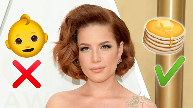 Halsey isn't pregnant, she just loves pancakes