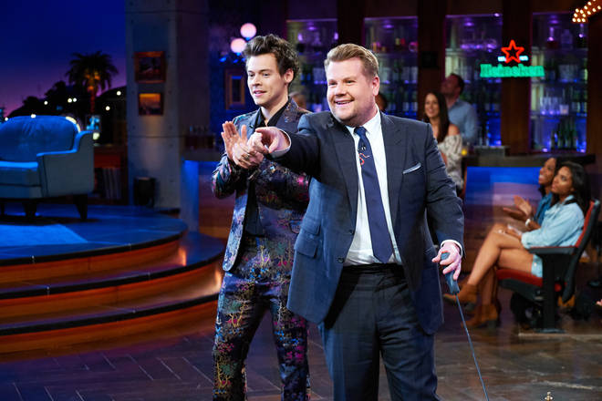 Harry Styles has joined The Late Late Show for another time