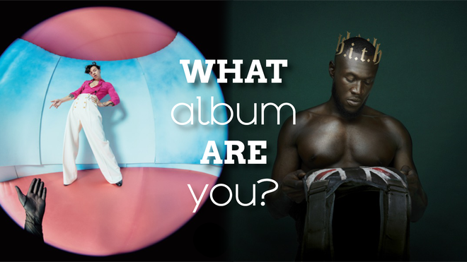 This quiz will determine which album you're more like