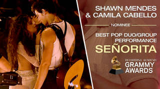 Shawn Mendes reacts to being GRAMMY nominated with Camila Cabello