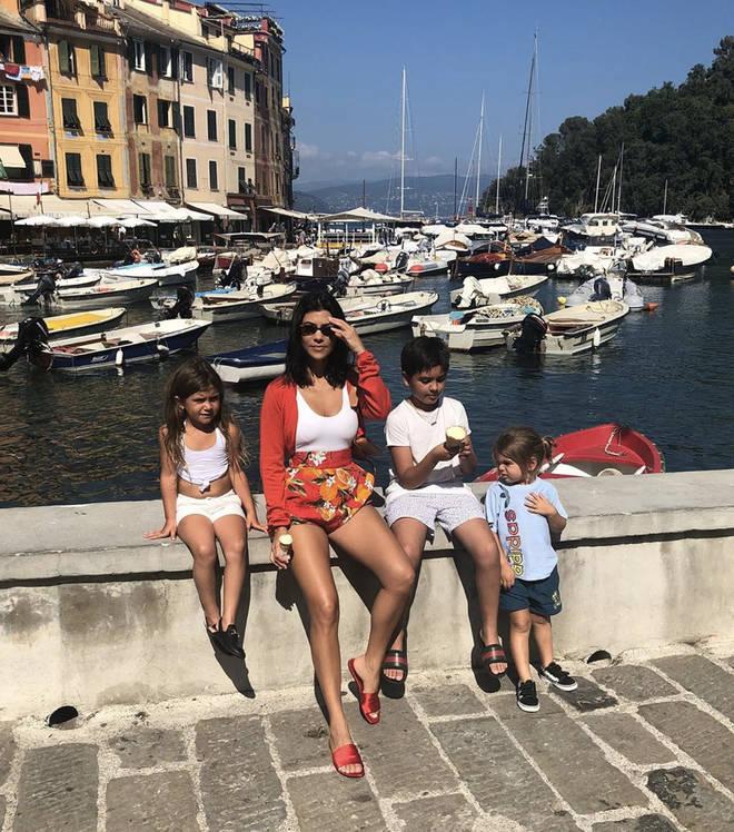 Kourtney Kardashian and Scott Disick have four children together
