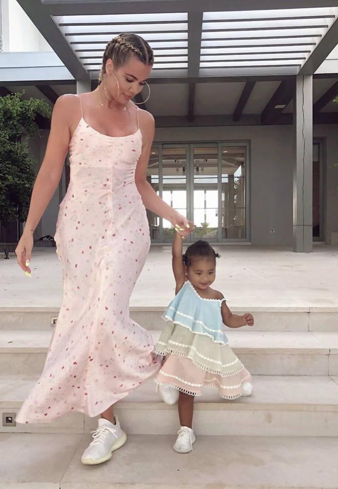 Khloe Kardashian has a daughter called True Thompson