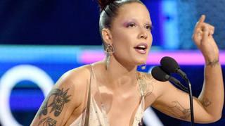 Halsey seemingly slammed the Grammys at this year's AMAs