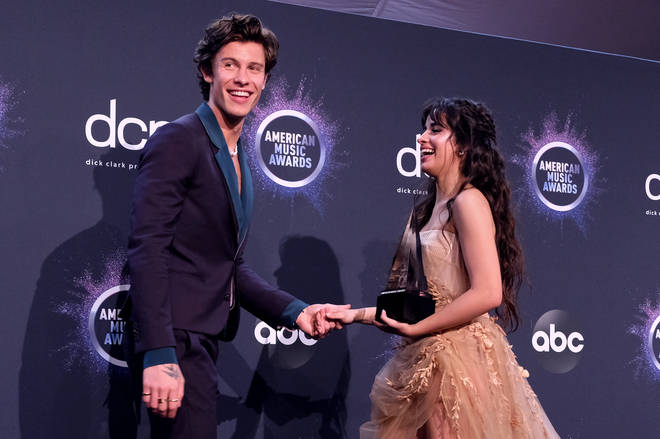 Shawn Mendes and Camila Cabello won 'Collaboration of the Year' at the AMAs