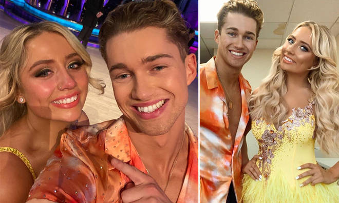 Saffron and Aj lost their place in the competition on Sunday night.