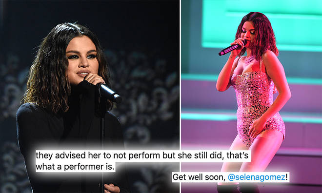 Selena Gomez's fans were concerned about her after the AMAs