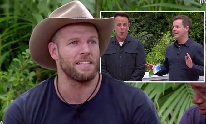 James Haskell lost his patience with Ant and Dec