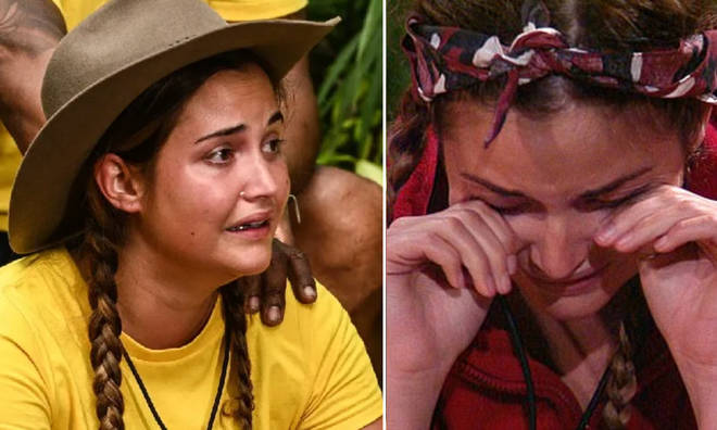 Jacqueline is facing her fears in the jungle.