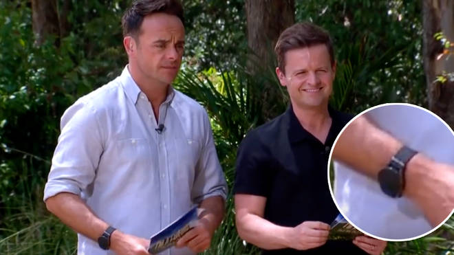 Fans noticed Ant and Dec's watches were covered on I'm A Celebrity...