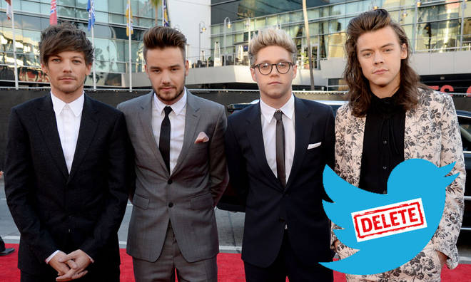 One Direction's Twitter account is at risk of being deleted