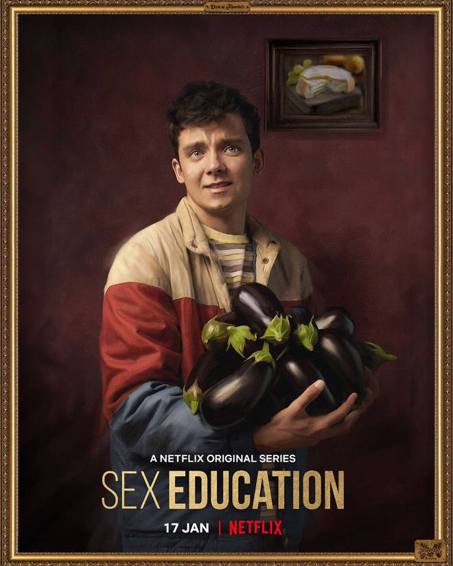 Sex Education promo images feature some heavy innuendo