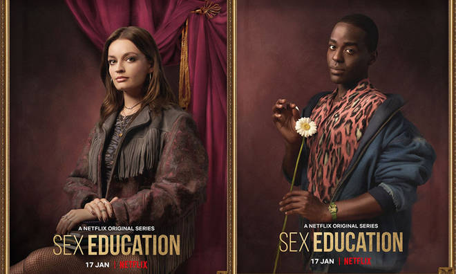 The promotional shots for Sex Education series 2 have arrived