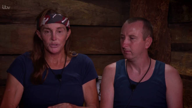 Caitlyn Jenner and Andy Whyment had to decide which celebs would do which chores