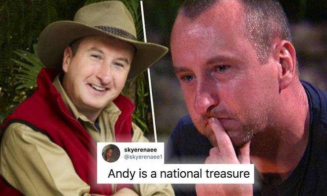 I'm A Celeb viewers are loving 'national treasure' Andy Whyment