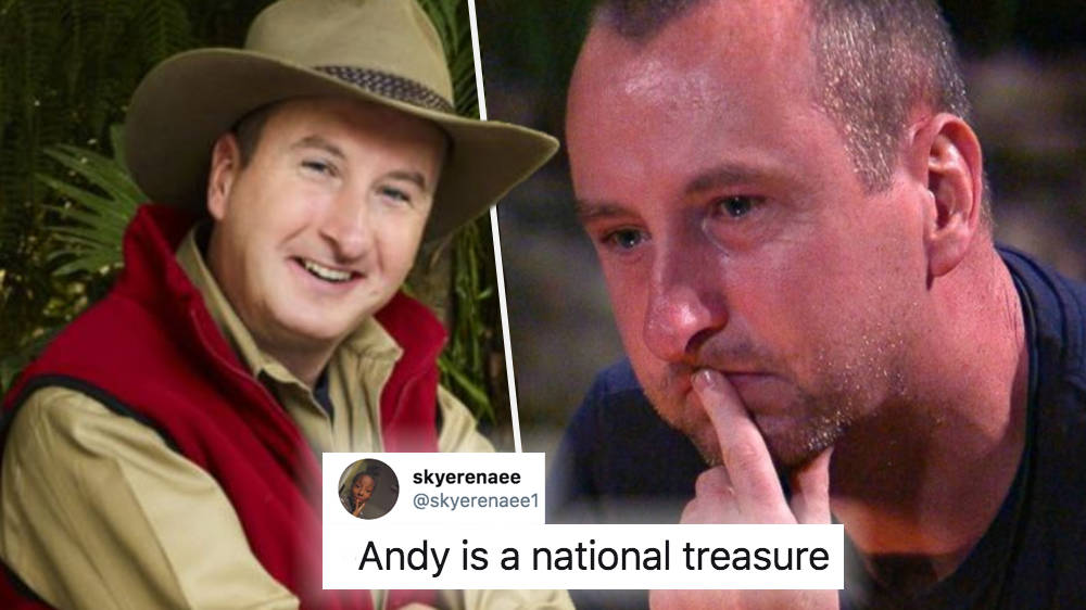 I'm A Celeb Viewers Love 'National Treasure' Andy Whyment & Others Feel Sorry For Him