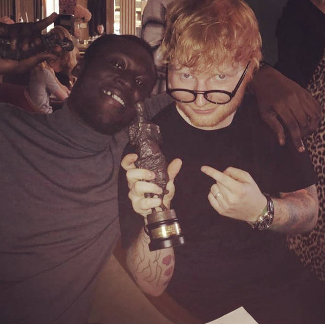 Stormzy has collaborated with Ed Sheeran on his new album